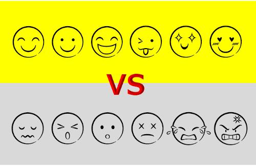 感情の表情